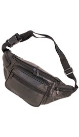 Black Large 5 Pocket Fanny Pack #FP2004K