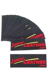 FREE Jamin' Leather Bumper Sticker with Purchase #FREE_STICKER