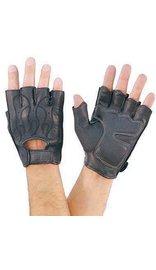 Fingerless Flame Gloves W/gel #G166FLAME