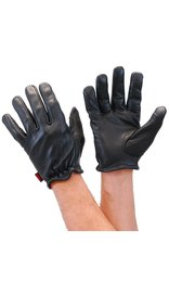 First MFG Unlined Premium Cowhide Leather Gloves with Cell Phone Fingertips #G2110K