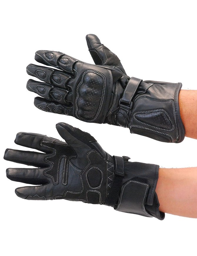Ultimate Riding Gloves with Pads and Hard Knuckles #G410KNK