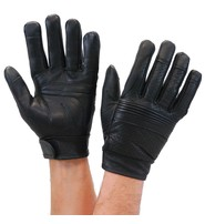 Milwaukee Leather Gloves Perforated w/Touch Screen Fingertips #G7516VSK