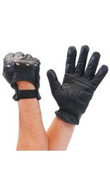 Economy Lambskin Leather Driving Gloves #G8355VK
