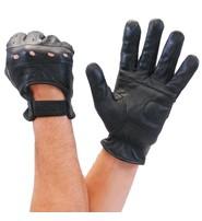 Economy Lambskin Leather Driving Gloves #G8355VK