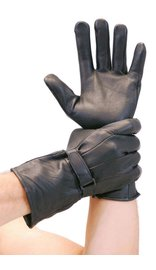 Milwaukee Deerskin Unlined Motorcycle Gloves w/Extended Cuffs #G864NDEER