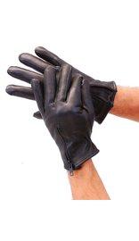 Milwaukee Deerskin Zipper Gloves w/Thinsulate & Fleece Lining #G899NZK