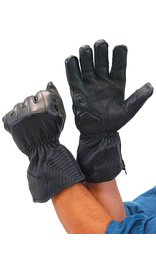 Daniel Smart Premium Deerskin Gauntlet Leather Gloves #G91ZK