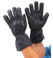 Daniel Smart Premium Deerskin Gauntlet Leather Gloves #G91ZK
