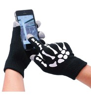 Skeleton Hand Cell Phone Glove #GC491429SK