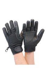 Daniel Smart Lightweight Perforated Leather & Nylon Riding Glove #GMC33VK