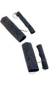 Jamin Leather Leather Grip Covers Set (4 Pc) #GR90900SET