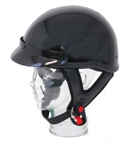 Black D.O.T. Visor Helmet #H100K