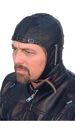 Unik Leather Aviator Helmet/cap #H1381A