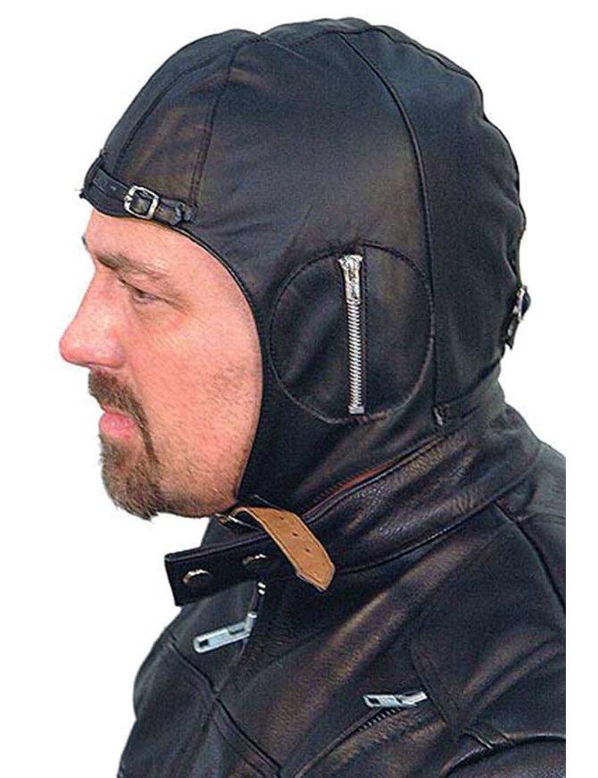 Unik Leather Aviator Helmet/cap #H1381A