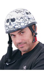 Skull Boneyard Novelty Helmet #H6401SK