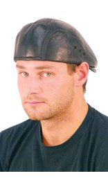 USA Brand Soft Lambskin Leather Ivy Cap #H9015K