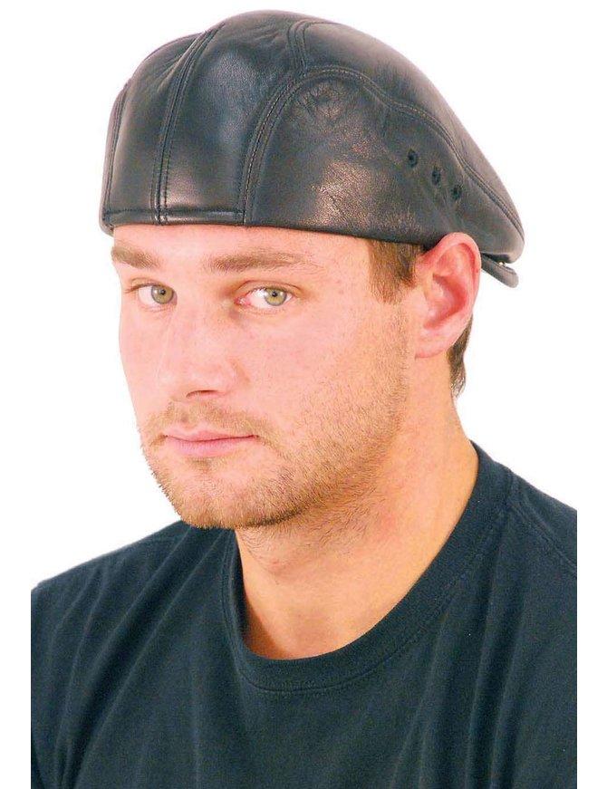 USA Brand Soft Lambskin Leather Ivy Cap #H9015K