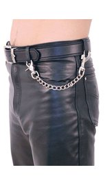 Jamin Leather 12 Inch Fun Chain w/Key Klip #KK212