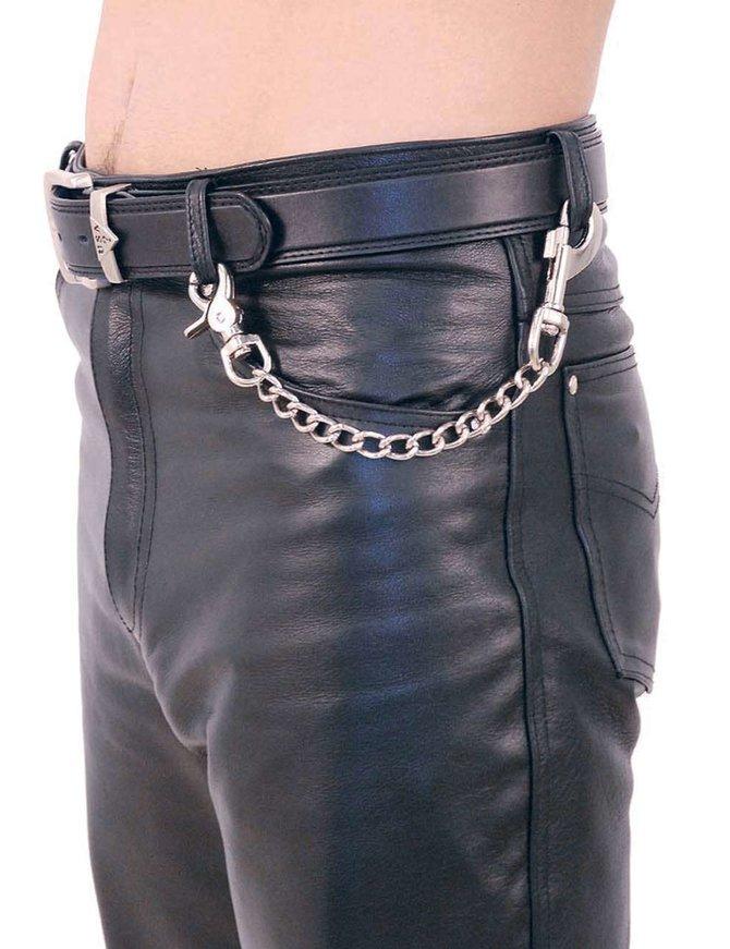 Jamin Leather 12 Inch Fun Chain w/Key Klip #KK212