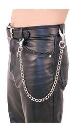 Jamin Leather 24 Inch Fun Chain w/Key Klip #KK224