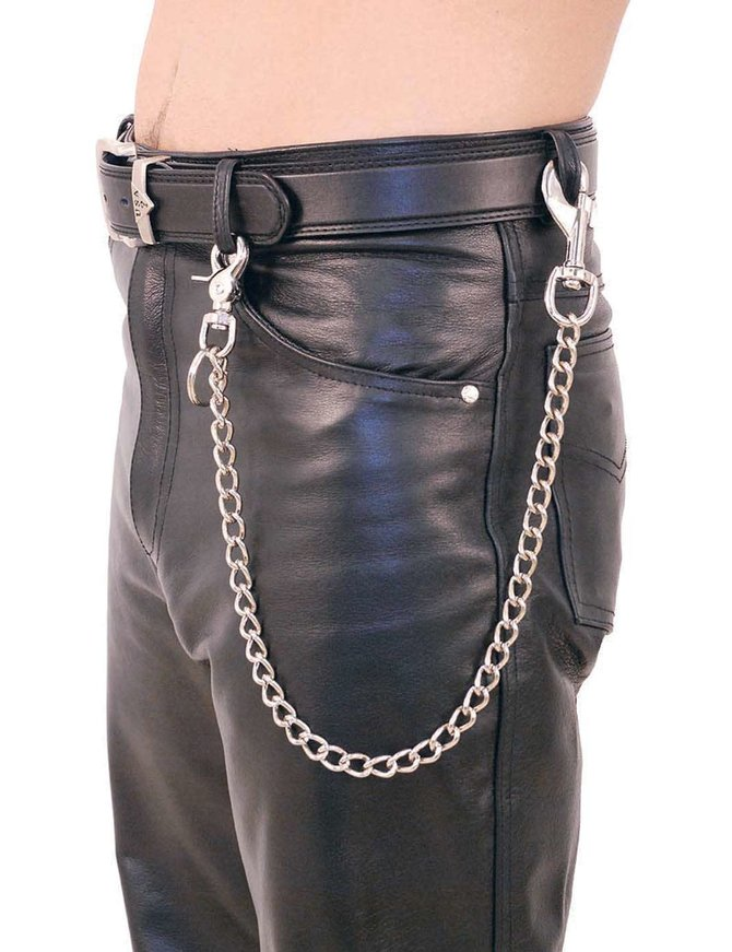 Jamin Leather 24 Inch Fun Chain w/Key Klip #KK224