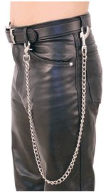 Jamin Leather 36 Inch Fun Chain w/Key Klip #KK236