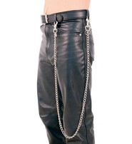 Jamin Leather 48 Inch Fun Chain w/Key Klip #KK248