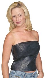 Jamin Leather 12 Inch Strapless Leather Bustier #LH2082K (S-XL)