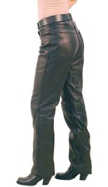 Jamin Leather Lambskin Leather Pants for Women #LP591L
