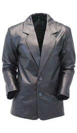 Jamin Leather Two Button Lambskin Leather Blazer / Sports Coat #M118K
