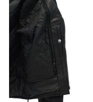 Jamin Leather Premium Classic Side Lace Leather Motorcycle Jacket #M15L