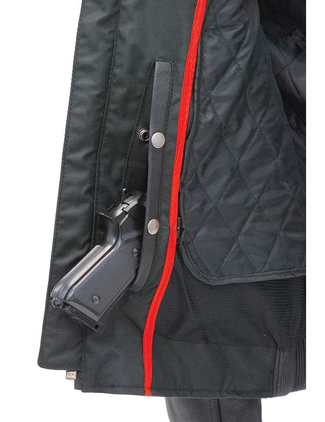Padded Scooter Jacket w/Vents, Dual CCW Pockets & Reflectors #M66110VGK