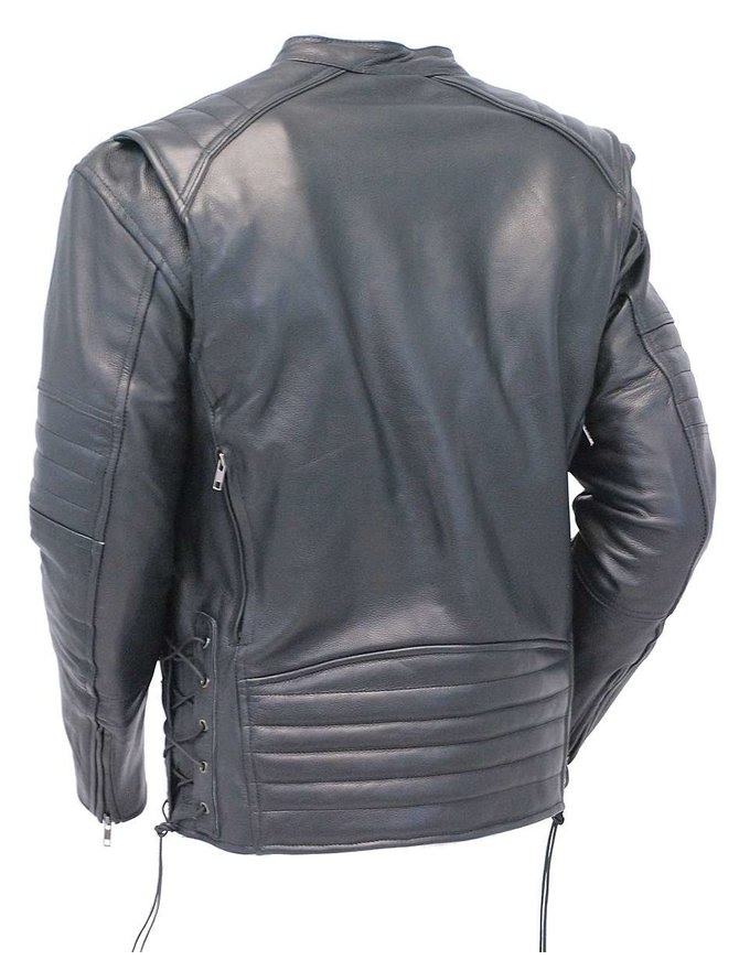 Vented Scooter Jacket w/Dual CCW Pockets, Pads & Reflectors #M6616VGK
