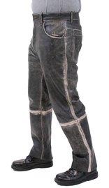 Men's Vintage Antique Leather Pants #MP325VK (30-42)