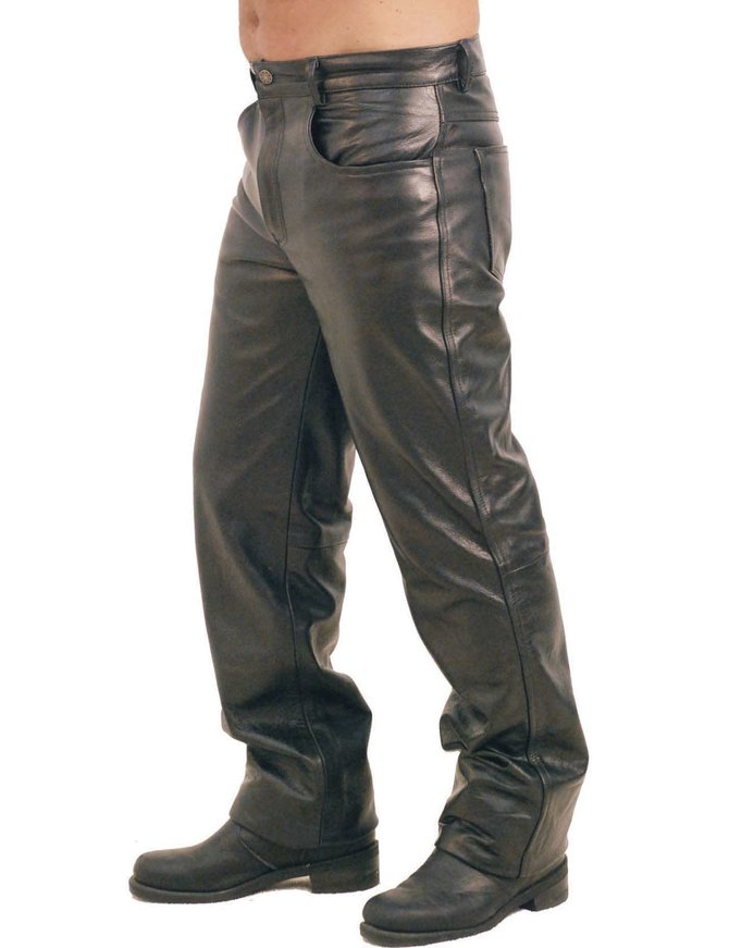 Premium Buffalo Men's Leather Pants #MP750