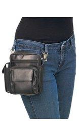 7 x 6 Clip-On Hip Klip Bag w/Strap & Side Phone Pocket #PKK1575K