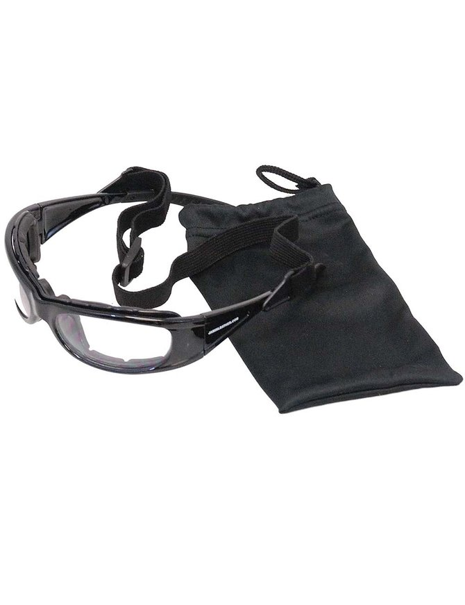 Venom Riders Convertible Glasses w/Foam #SG23980FSCK
