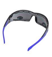 Foam Filled Classic Biker Glasses w/1 Piece Lens #SG4113FF