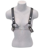 Made in USA Unisex Handcuff Leather Harness #UM113HC