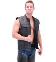 Men's Economy CCW Club Vest w/1 Piece Back #VM320GK