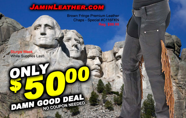 No Coupon Needed for these Sturgis #DamnGood Deals! While Supplies Last!