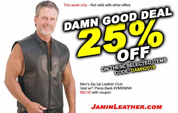 A Damn Good Deal on Vests! Plus, FREE Shipping!