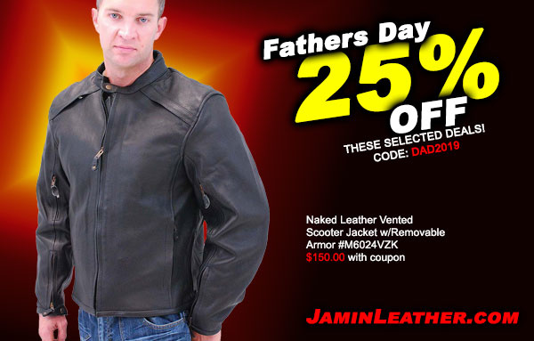 Happy Father's Day… More… 25% Off + Free Shipping!