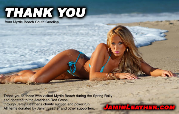 Jamin Leather Raised $5000+ for Charity!