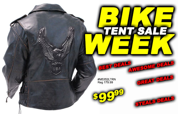 Bike Week Tent Sale Preview!