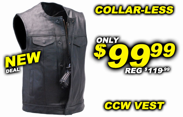 THE Best Deals on Vests! +FREE Shipping!