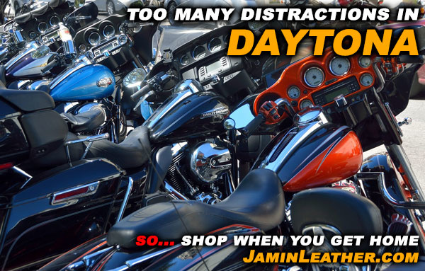 Too Many Distractions in Daytona? Shop When You Get Home!