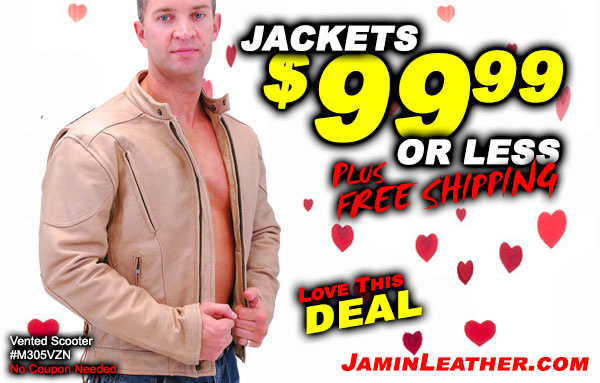 Look at this Sweetheart Deal! Jackets $99 or less!