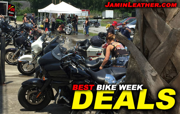 Want 10% OFF? We're Gearing up for Bike Week with our Best Deals!