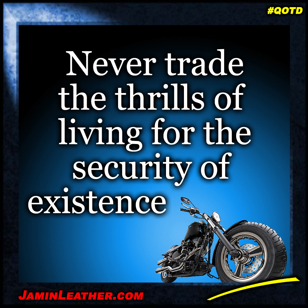 Never trade the thrills...